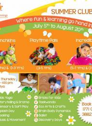 Bright Beginnings Summer Camp 2015